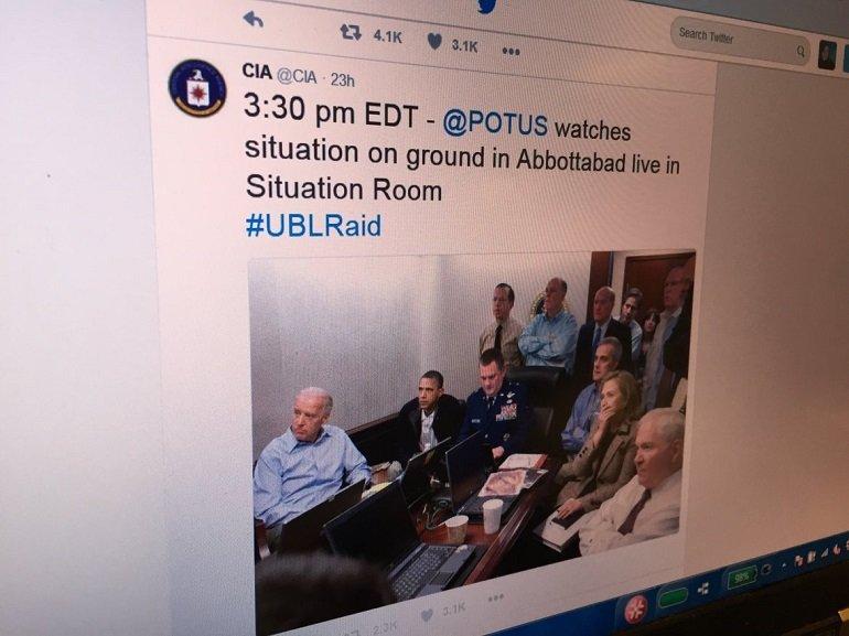 "CIA ""Live Tweets"" the Bin LadenRaid"